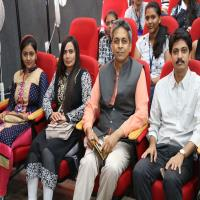"""Doctor Vibrant"" event in saurashtra university"